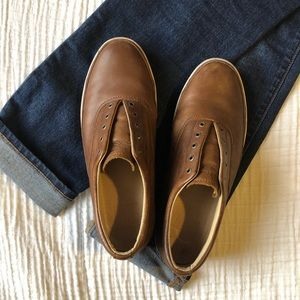 Frye Leather Greene Deck Sneakers